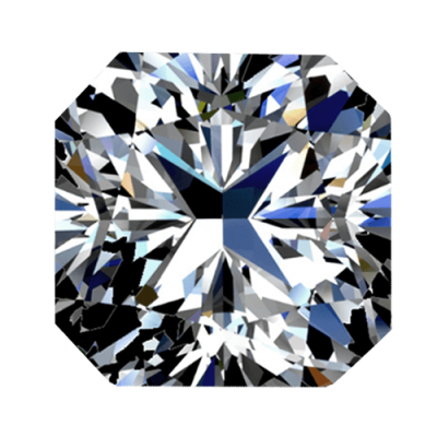 Diamant taille radiant