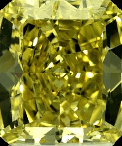 Diamant Fancy Yellow VS2