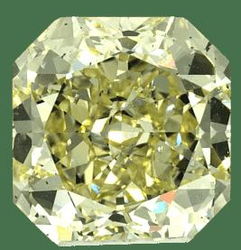 Diamant Fancy LIght Yellow, de pureté SI