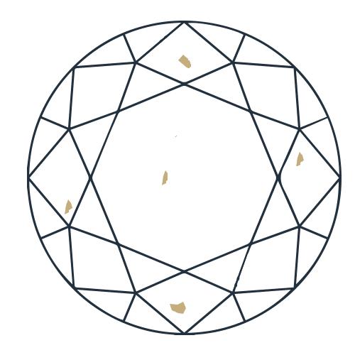Diamant pureté SI